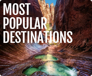 Popular Destinations in 2019