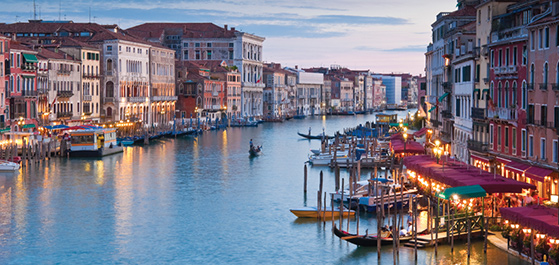 Six Countries, Venice and Paris guided tour to Europe