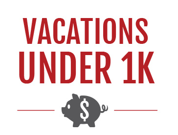 Vacations Under $1000